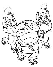 Doraemon and the friends