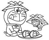 Doraemon Craves Doughnuts