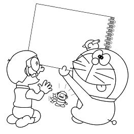 Doraemon Draws For Nobita