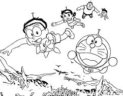 Doraemon, his Friends With Dinosaurs