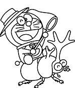 Doraemon Play with Beetle