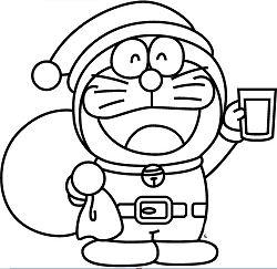 Doraemon Snowman