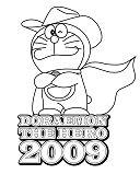 Doraemon The Hero 2009 Coloring Page