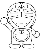 Doraemon Waving