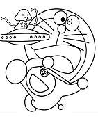 Doraemon With Ufo