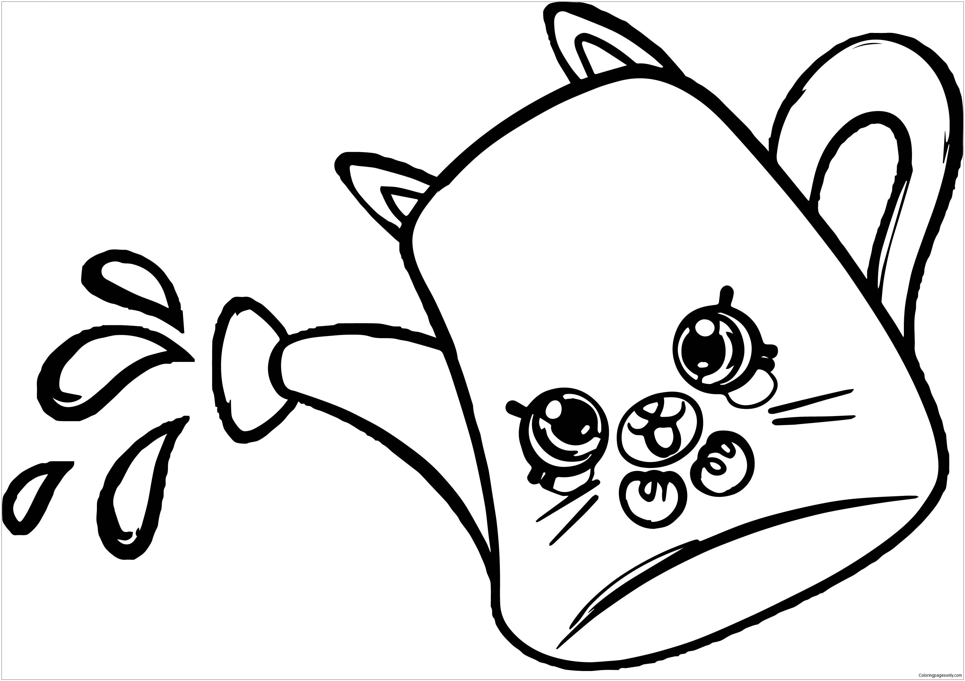 Drips From Shopkins Coloring Page