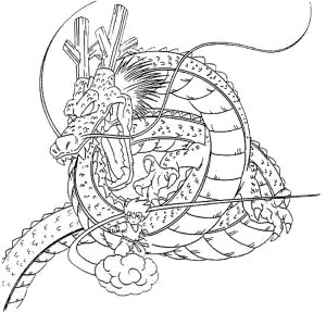 Earth Dragon Coloring Page