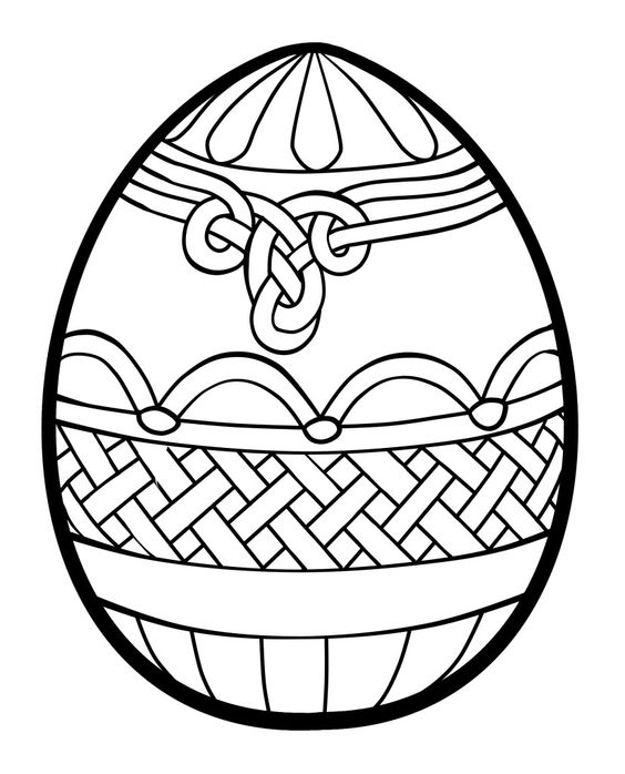 Easter Eggs Coloring Pages ColoringPagesOnlycom