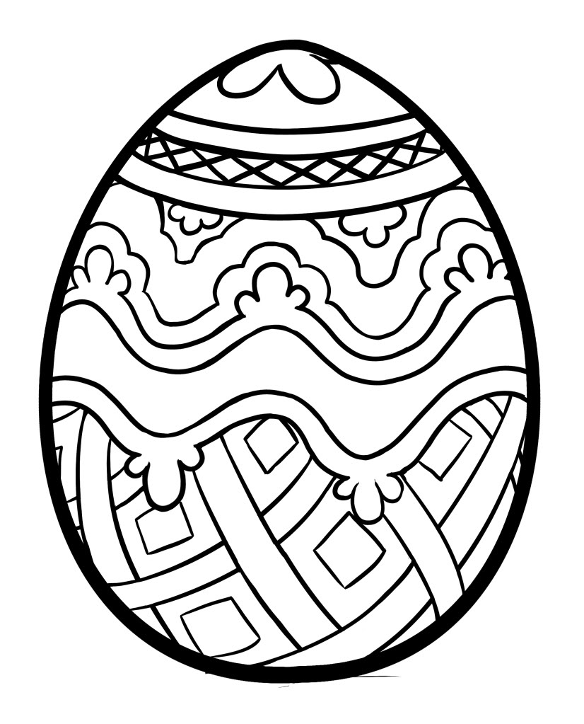 Easter Eggs Symbolizing Christianity