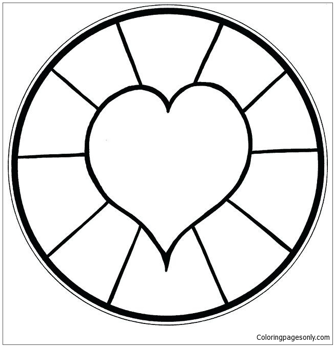 Easy Mandala Coloring Pages - Mandala Coloring Pages - Free Printable Coloring  Pages Online