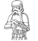Easy Stormtrooper from Star Wars