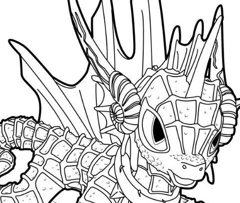 Echo Skylanders Coloring Page