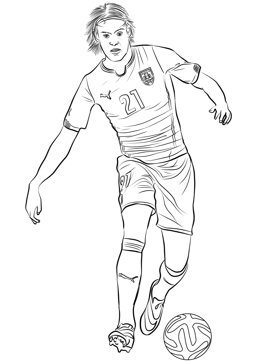 Edinson cavani coloring pages for Stampe da colorare spiderman