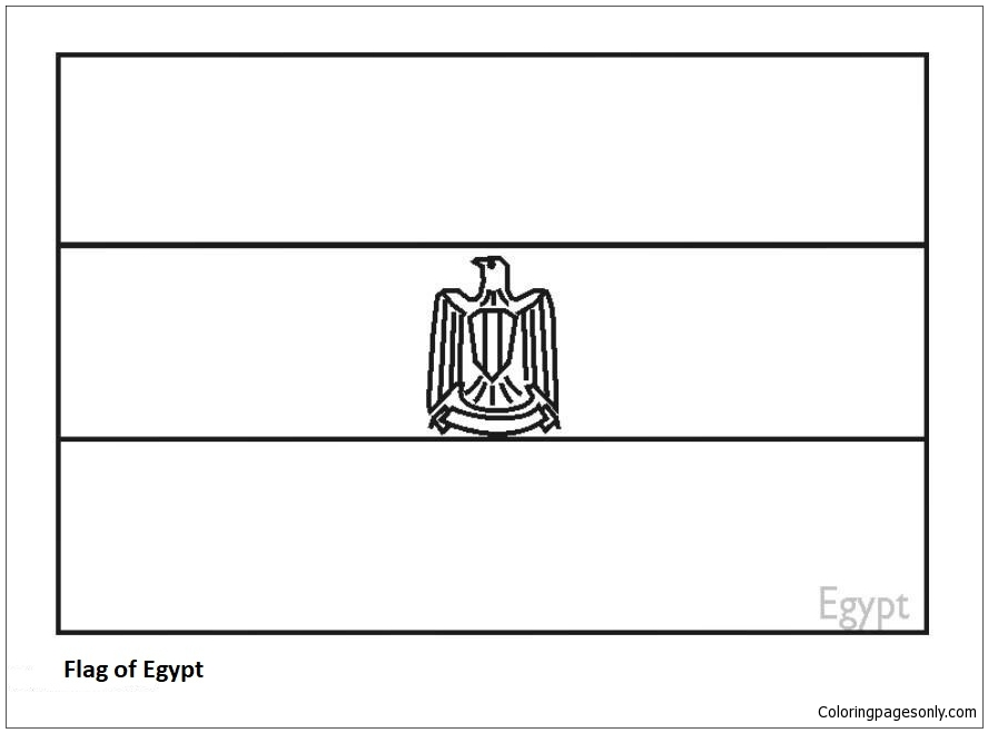Free Coloring Pages: Egypt Coloring Pages   659x888