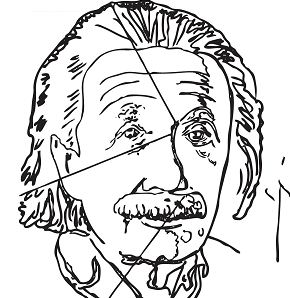 Einstein By Andy Warhol
