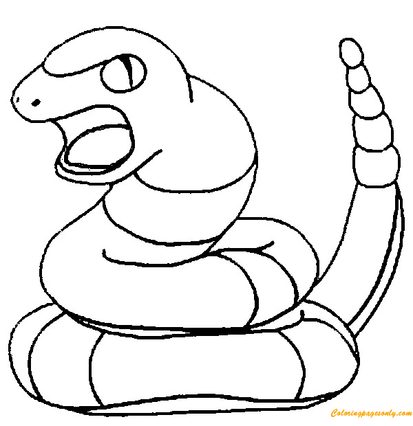 pokemon ekans coloring page auto electrical wiring diagram Welders Wire Diagram for Capacitor ekans pokemon coloring page