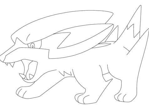 gible coloring pages - photo#18
