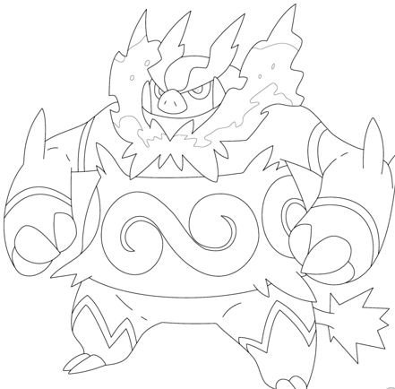 Emboar Pokemon