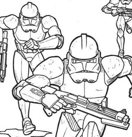 Emperor Clone Soldiers