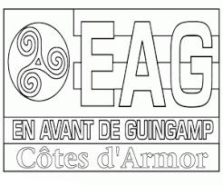 En Avant de Guingamp Coloring Page