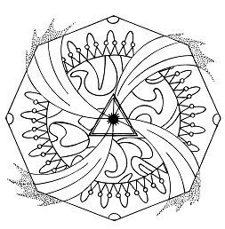 Energy Whirl Mandala