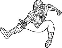 Epic Spider Man Coloring Page