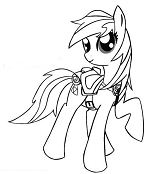 Epona My Little Pony Coloring Page