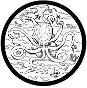 European Octopus Mandala