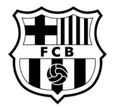 F.C Barcelona Coloring Page