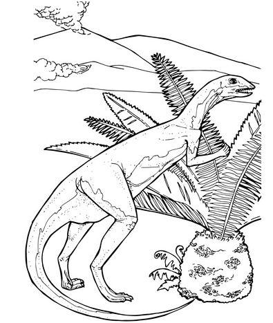 Fabrosaurus Herbivorous Jurassic Dinosaur