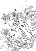 Faline And Bambi  from Bambi Coloring Page
