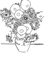 Famous Paintings Coloring Page