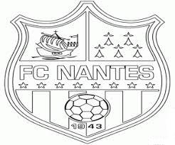 FC Nantes Coloring Page