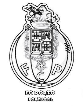 FC Porto Coloring Page