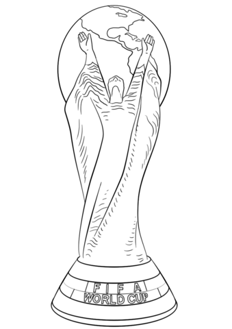 FIFA World Cup Football Trophy