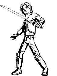 Fine Star Wars Coloring Page