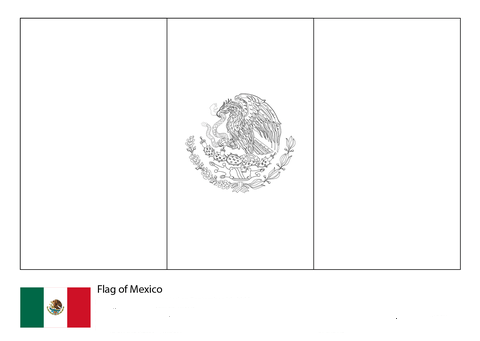 Flag of Mexico-World Cup 2018