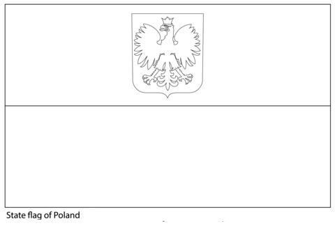 Flag of Poland-World Cup 2018