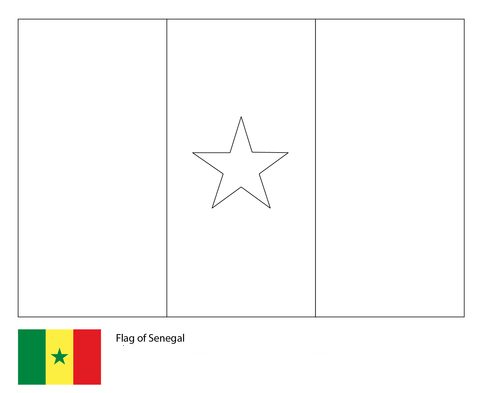 Flag of Senegal-World Cup 2018