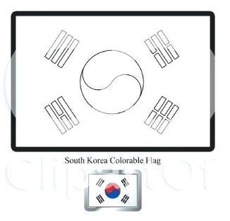Flag of South Korea-World Cup 2018