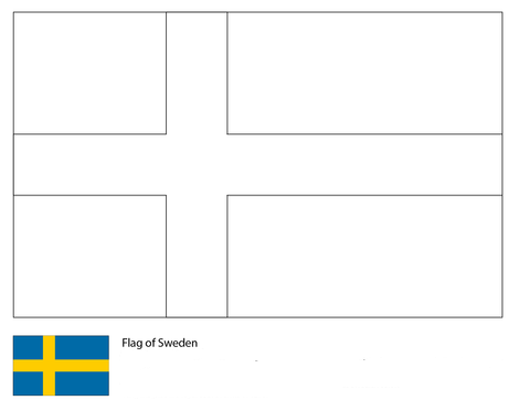 Flag of Sweden-World Cup 2018