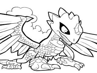 Flashwing Skylanders Coloring Page