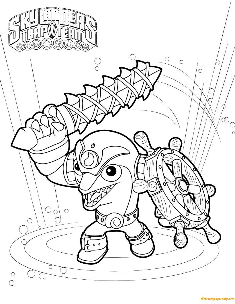 Free Skylanders Swap Force Coloring Pages, Download Free Clip Art ... | 1060x820