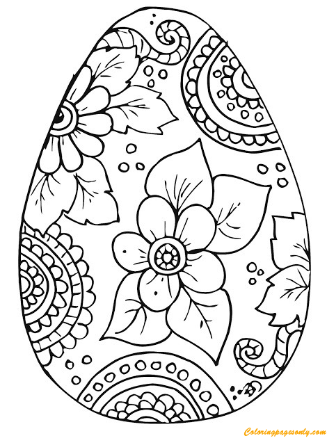 ukrainian easter egg coloring pages - Bing images | Ukrainian ... | 640x470