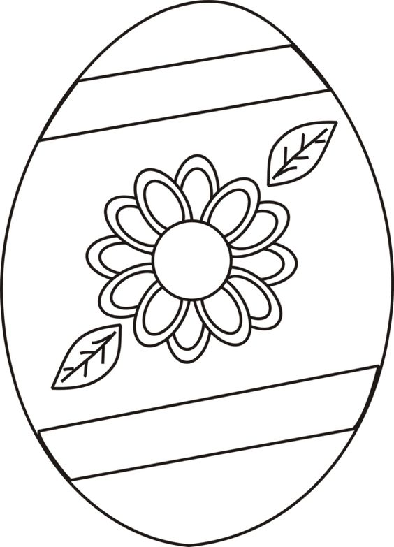 Easter Eggs Coloring Pages ColoringPagesOnly