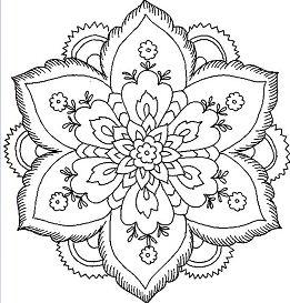 Flower Mandala 5