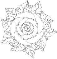 Flower Mandala 9