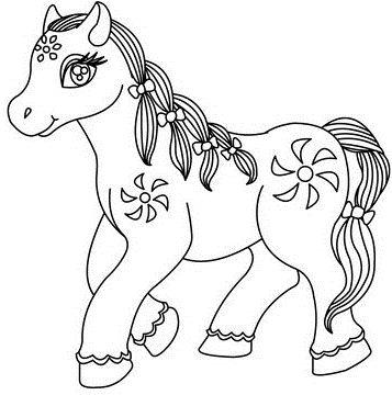 Flower Pony