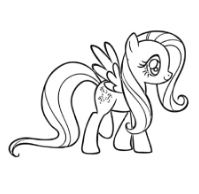 Fluttershy In My Little Pony Friendship