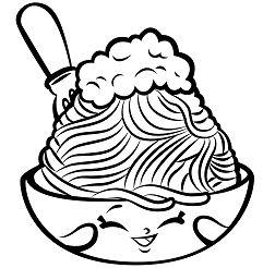 Foods Netti Spaghetti shopkins